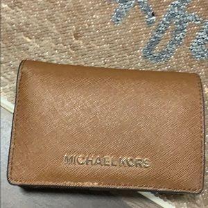 MK 💯 Brown Wallet Michael Kors